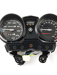 cheap -Motorcycle Tachometer for YAMAHA YBR125 YBR YB 125 K YBR125K Speedometer Meter Gauge Moto Tacho Instrument Clock No Gear Monitor