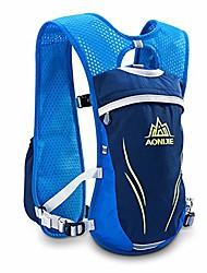 cheap -hydration running backpack men & women & kids cycling vest 5.5l running pack runner rucksack cycling hiking outdoor for biking climbing marathoner