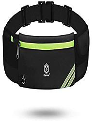 cheap -fanny pack for men, running belt for women, bounce free phone holder for running, workout waist bag pack - runners belt running accessories for iphone samsung