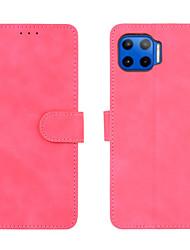 cheap -Phone Case For Motorola Full Body Case Leather MOTO G9 PLAY MOTO one action MOTO G8PLUS MOTO E6 play one hyper Moto G8 Moto Edge+ Moto One Macro / G8 Play Moto P40 Power Moto E6S (2020) Shockproof