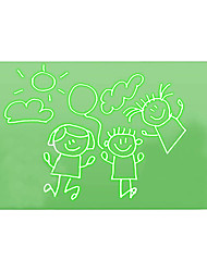 cheap -Light Drawing Board Drawing Flip Board Drawing with Light Plastic Draw With Light Fun A4 Kid's Adults' Boys and Girls for Birthday Gifts or Party Favors