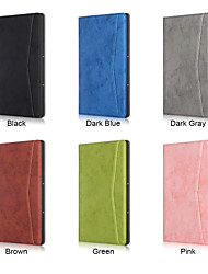 cheap -Case For Huawei Tablets MatePad T8 Shockproof Full Body Cases Solid Colored PU Leather / TPU