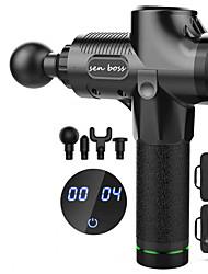 cheap -1PC LCD 30-speed Fascia Gun Muscle Massager Neck Membrane Relaxer Electric Transmembrane Leg Deep Massager