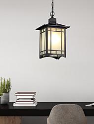 cheap -1-Light 18 cm Pendant Light Acrylic Glass Electroplated Traditional / Classic 110-120V / 220-240V