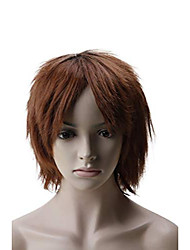 "cheap -® sexy lady full wig wigs for women fancy dress 12""-straight - [ natural black to light auburn ]"