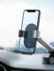 cheap -Baseus Gravity Car Phone Holder  Suction Cup Adjustable Universal Mount Holder for Phone in Car Cell Mobile Smartphone Support