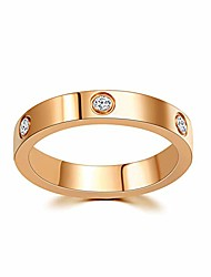 cheap -18k gold plated love ring for women   cubic zirconia promise gold rings   engagement wedding bands