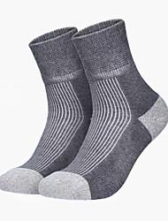 cheap -micro crew light cushion socks wool hiking full thickness trekking climbing crew socks, multicolored, 3 pairs, small
