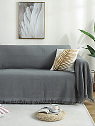 cheap -Sofa Cover Contemporary Embossed Polyester / Cotton Blend Slipcovers