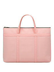 cheap -Unisex Bags Polyester Laptop Bag Top Handle Bag Zipper Handbags Office & Career Black Yellow Blushing Pink Sky Blue