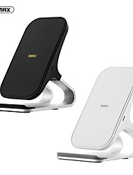 cheap -Remax Wireless Desktop Charger 10W Max Vertical Desktop Stand Travel Charger Bracket Design for iPhone/Samsung/Huawei/Xiaomi