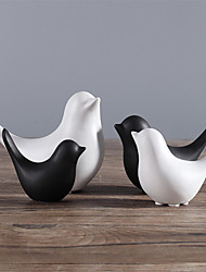 cheap -1pc Nordic Style Simple Ceramic Bird Decoration