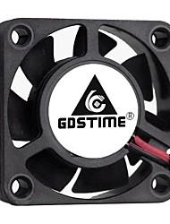 cheap -Gdstime-2 Pcs Cooling Fan For Pc And Computer 2-Pin Ball Bearing 24v 12v 5v 40mm x 40mm x 10mm 4010