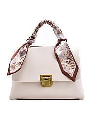 cheap -Women's Bags Crossbody Bag Zipper Date Office & Career Handbags MessengerBag Black Brown Beige Coffee