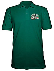 cheap -100% unofficial product image koolart 3045 eddie stobart embroidered onto polo shirt (xl, bottle green)
