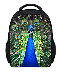 """cheap -1-6 years old kids backpack lovely peacock 12"""" toddler school bag"""