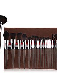 cheap -Professional Makeup Brushes 18pcs Soft Full Coverage Artificial Fibre Brush Plastic for Makeup Brush