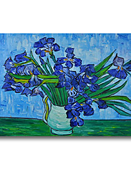 cheap -100% Hand Painted Oil Paintings on Canvas Modern Stretched and Framed Grace Abstract Van Gogh Artwork Ready to Hang