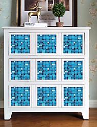 cheap -Self Adhesive Tile Sticker European Style Wall Sticker Pvc Sticker Removable Tile Sticker Decals For Bathroom Kitchen 10pcs