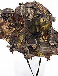cheap -3d leafy camouflage ghillie cap hunting fishing hats army war games camo sunshade baseball hat men women