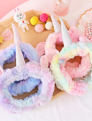 cheap -Headbands Hair Accessories Plush Wigs Accessories Women's 3 pcs pcs cm Casual / Daily Stylish / Sweet Fashionable Design