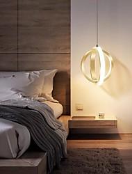 cheap -17 cm LED Pendant Light Modern Nordic Gold Circle Ring Desgin Bedside Light Dining Room Restaurant Bar Metal 110-120V 220-240V