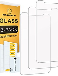 cheap -[3-pack]-  for iphone x/iphone xs/iphone 10 [tempered glass] screen protector [0.3mm ultra thin 9h hardness 2.5d round edge] with lifetime replacement