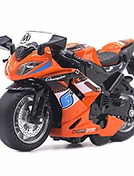 cheap -pull back car toy,1/14 simulation motorcycle pull back model with led music learning kids toy,orange