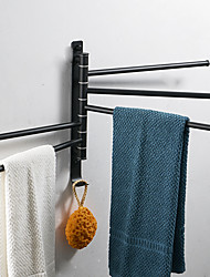 cheap -Towel Bar New Design / Creative / Multifunction Contemporary / Modern Stainless Steel 1pc - Bathroom Wall Mounted
