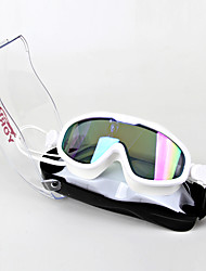 cheap -Swimming Goggles Skidproof Casual Safety Convenient Sports For Teen Eco PC Coating Silver Transparent