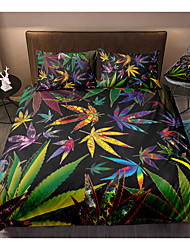 cheap -Tropical Forest Print 3-Piece Duvet Cover Set Hotel Bedding Sets Comforter Cover with Soft Lightweight Microfiber For Holiday Decoration(Include 1 Duvet Cover and 1or 2 Pillowcases)