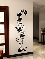 cheap -Botanical Wall Stickers Plane Wall Stickers Decorative Wall Stickers Vinyl Home Decoration Living Room Bedroom Decor 30*105cm
