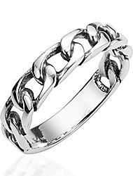 cheap -forever bound chain link .925 sterling silver ring (8)