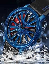 cheap -SANDA Men's Sport Watch Analog Quartz Modern Style Minimalist Water Resistant / Waterproof / One Year / Genuine Leather / Japanese