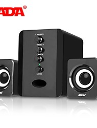 cheap -SADA D-202 Combination Speakers USB Wired Computer Speakers Bass Stereo Music Player Subwoofer Sound Box for PC Smart Phones