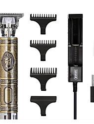 cheap -Old Man Hair Clipper With Built-in Battery Engraving Oil Head Scissors Buddha Head Hair Clipper 0 Knife Head Whitening Scissors