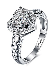 cheap -18k white gold plated heart cubic zirconia diamond rings for women wedding promise engagement band (9)