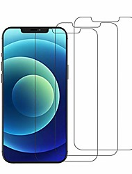 cheap -3 pack screen protector for iphone 12 / iphone 12 pro, [easy installation frame] [case-friendly] premium tempered glass screen protector for iphone 12 / iphone 12 pro 2020, 6.1-inch