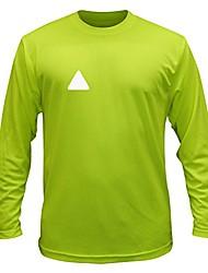 cheap -unisex reflective long sleeve shirt - broken diamond (lime yellow, s)