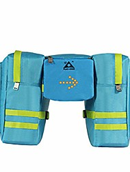 cheap -bicycle pannier bike pannier trunk bag, large capacity waterproof bicycle rear seat pannier fit for cycling trip with wireless controll trun light bag triangle saddle frame pouch for cycling