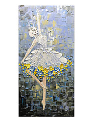 cheap -100% Hand-Painted Contemporary Art Oil Painting On Canvas Modern Paintings Home Interior Decor Abstract Dancer Painting Large Canvas Art(Rolled Canvas without Frame)