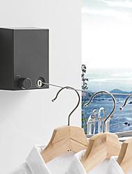 cheap -Bathroom Shelf Adjustable Length / Retractable Cable / Clothlines Contemporary / Modern Bathroom Hotel bath Wall Mounted Hanger
