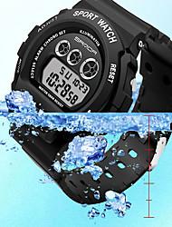 cheap -SANDA Women's Digital Watch Analog - Digital Digital Vintage Style Classic Water Resistant / Waterproof Calendar / date / day Large Dial / One Year / Rubber