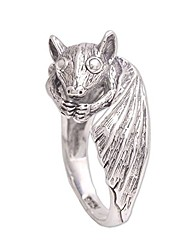 cheap -.925 sterling silver ring, beautiful bat'