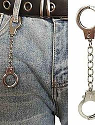 cheap -handcuffs wallet belt chain rock hiphop pants chain punk waist chain women keychains men jewelry accessories-53