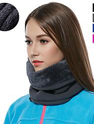 cheap -winter neck gaiter warmer, fleece windproof face scarf ski mask balaclava for men women cold weather skiing cycling running (black+grey(2pcs))