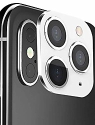 "cheap -camera modified lens for iphone x 5.8""/ iphone xr 6.1"" premium tempered glass protection modified 3-lens cover change x/xs/max to iphone 11 pro mobile digital device (black) (white)"
