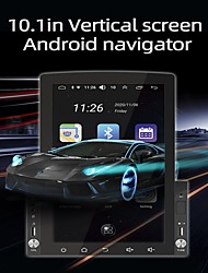 cheap -D110 Android 10 RAM 1GB ROM 16GB 10.1 Inch Universal Car GPS Navigation Radio HD Rotatable Screen IPS Support Carplay DVR MP5 Multimedia Player with GPS WIFI Mirror-Link