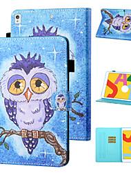 cheap -Case For Apple iPad mini 1/2/3  7.9'' / iPad mini 4 7.9'' / iPad mini 5 7.9'' Shockproof Full Body Cases Animal / Cartoon PU Leather / TPU
