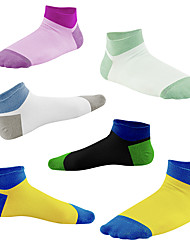 cheap -compression socks for women & men circulation (3/6/7 pairs) 15-20 mmhg is best for athletic running cycling - white - s-m